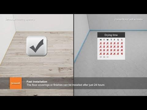 fermacell flooring vs wet screeds