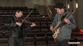 NS Design Instruments Bass and Violin Demo by Sweetwater