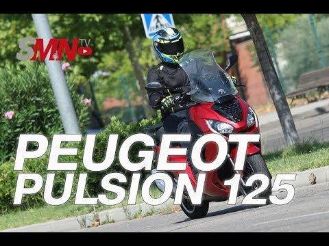 Prueba Peugeot Pulsion 125 2019