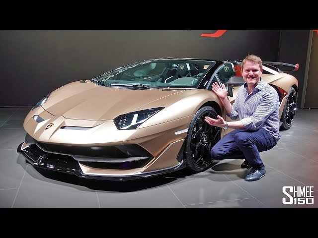 The Lamborghini Aventador SVJ Roadster is HERE! | FIRST LOOK