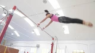 Le ginnaste del CSB in allenamento parte 3 ginnastica artistica