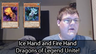 Fire Hand and Ice Hand - Dragons of Legend (Hello New Floaters)