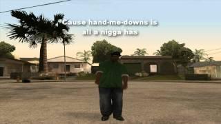 Nigga nigga nigga - Gangsta rap parody. (GTA San Andreas)