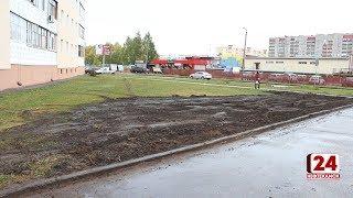 Строительство парковки стало причиной конфликта