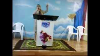 CANTORA  Jackeline Cristina Alves  NA IGREJA VINDE PARA CRISTO
