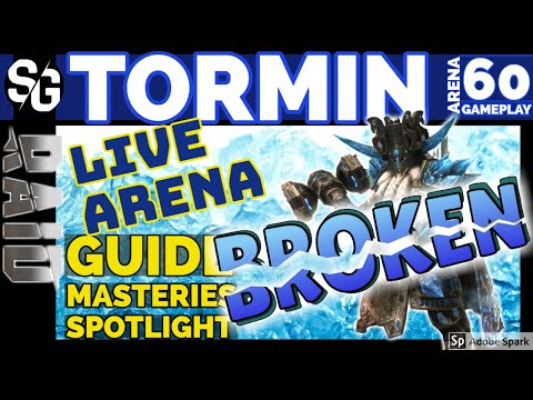 RAID SHADOW LEGENDS | TORMIN BROKEN 60 GAMEPLAY BUGS & BALANCE