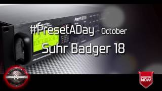#PresetADay - Suhr Badger 18 - AXE FX II / AX8 Rhythm and Solo Patches