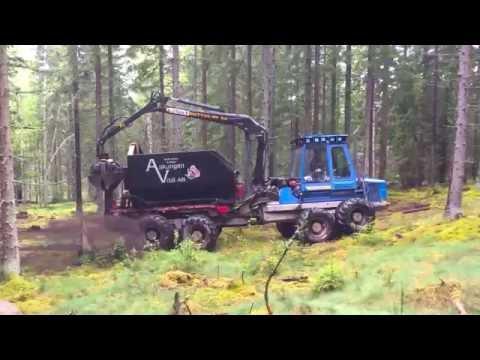Återföring av aska till skogen från biobränslepannan  på Torsvik