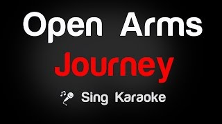Open Arms - Journey (Karaoke without Vocal) width=