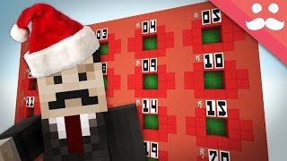 Giant Christmas Advent Calender in Minecraft!