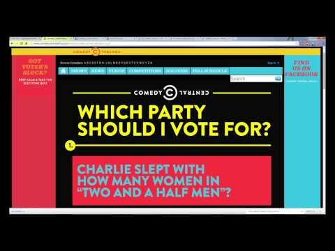 Comedy Central - Election Quiz