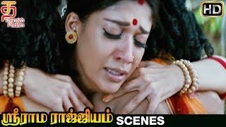 Sri Rama Rajyam Tamil Movie Scenes HD | Lava Kusa Leave Nayanthara | Balakrishna | Ilayaraja width=