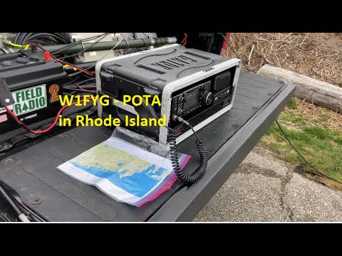 W1FYG Rhode Island POTA April 2021