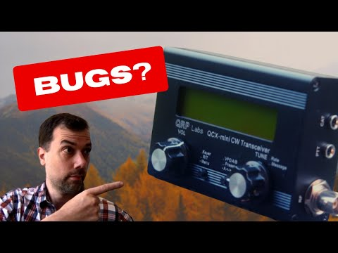 How to build a QCX Mini - Part 7 - Voltage Regulator Bug Fix