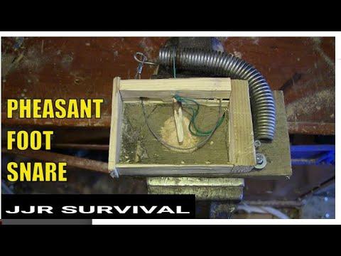 Homemade Pheasant Leg Snare Trap