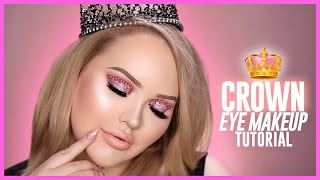 Trying The Viral CROWN EYE MAKEUP Look!
