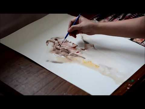 Speed Up Watercolor Portrait Painting - Let's Begin