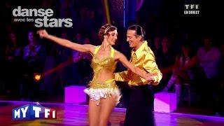 DALS S02 - Une samba avec Francis Lalanne et Sylvia Notargiacomo sur ''Alexandrie, Alexandra''