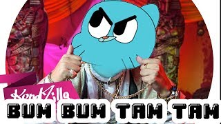 Gumball sing Bum Bum Tam Tam by Mc Fioti [official cartoon video]