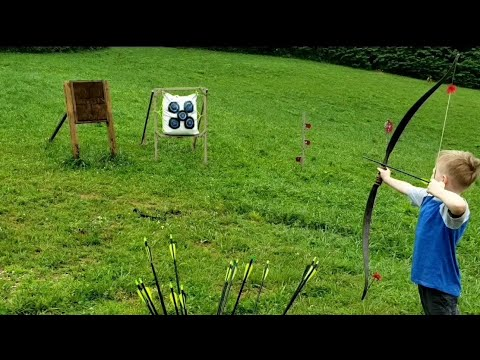 Eastern and Western Style Archery