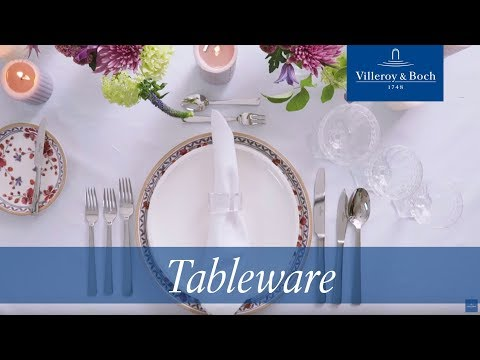 How to set a formal table - Napkins | Villeroy & Boch