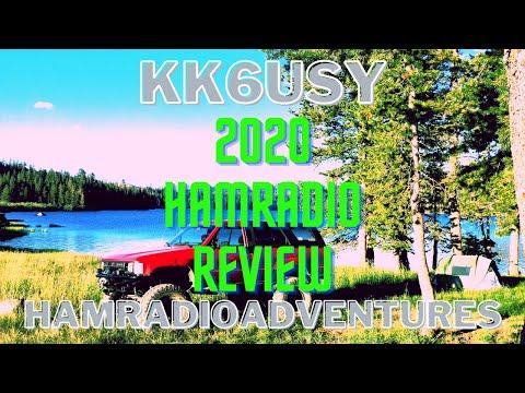 A 2020 Ham radio Review for KK6USY Hamradio Advetures!