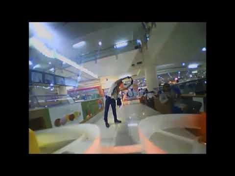 Mataram Mall fpv,eachine tx02 200mw,Menerbangkan drone di Mall(DRL)