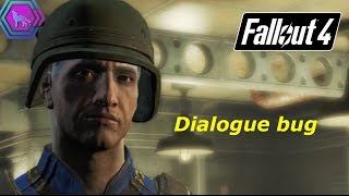 Dialogue bug | Fallout 4