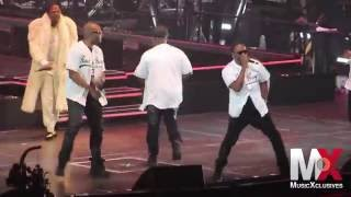 """112 Performs """"Only You"""" (Remix) w/ Mase at Bad Boy Family Reunion show in Brooklyn"""