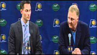 Jeff Foster Retirement Press Conference