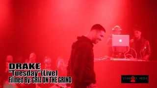 "DRAKE-""Tuesday""(Live In Toronto Nov/14/2014)"
