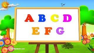 ABC Song | ABCD Alphabet Songs | ABC Songs for Children - 3D ABC Nursery Rhymes width=