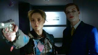 THE JOKER & PROTO HARLEY QUINN AT WAYNE ENTERPRISES - GOTHAM 4x20
