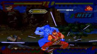 Mugen:Sf3 Shin Akuma vs Terry