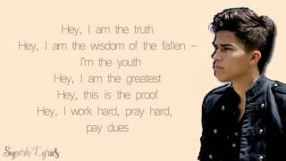 Alex Aiono : The Greatest | Sia ft. Kendrick Lamar - Lyrics