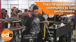 Tokio Myers amazes tube commuters to live performance