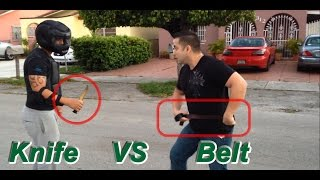 Using a Belt as an Improvised Weapon
