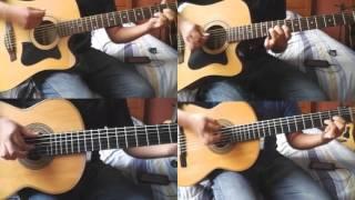 Shigatsu wa Kimi no Uso OP 1 - Hikaru nara 光るなら Guitar Cover