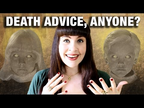 DYING ALONE & DEATH OBSESSED KIDS (Death Advice)