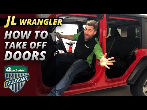 2018 Jeep Wrangler JL How To Take Off The Doors