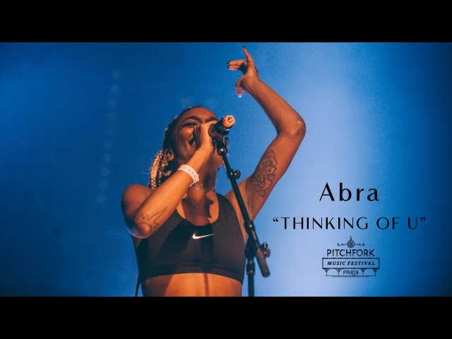 Video en directo de Abra para Pitchfork Music Festival 2016.