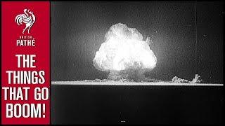 Atomic Bomb - The Big Test (1945) | British Pathé