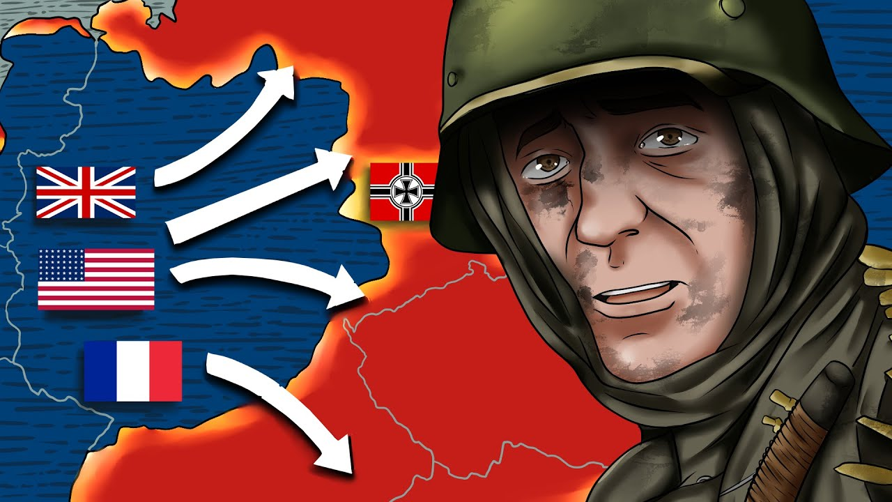 Western Front 1944-45: Part 2/2 | Animated History