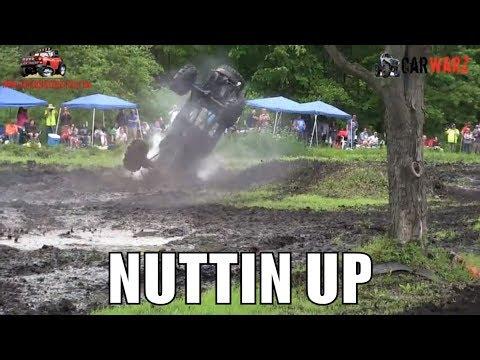 NUTTIN UP Flips Over At Perkins Spring Mud Bog