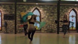 Circle dance choreography