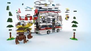 Vacation Getaways - LEGO Creator - 3in1 Product Video 31052