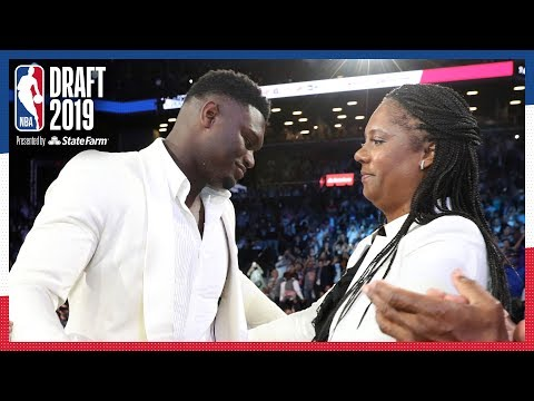 Zion Williamson Emotional After Being Selected #1 OVERALL | 2019 NBA Draft
