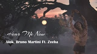 Hear Me Now - Alok, Bruno Martini - Ft. Zeeba (tradução)HD
