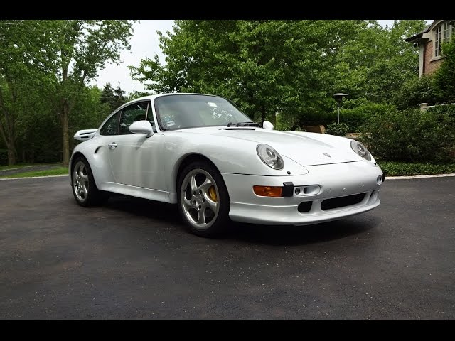 1997 Porsche 911 993 Turbo S in White Paint & Engine Start Up on My Car Story with Lou Costabile