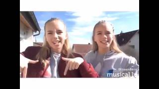 Lisa and Lena || Don't mind me || musical.ly